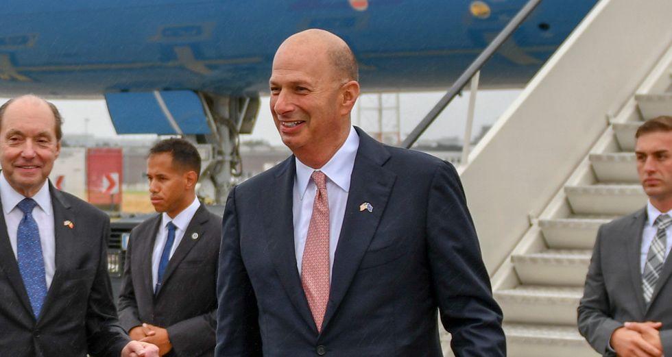 House Intelligence Democrat says US ambassador to the EU committed perjury