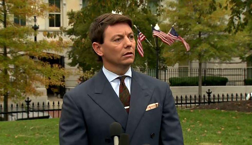 White House spokesman offers bizarro explanation for Trump's pardon spree