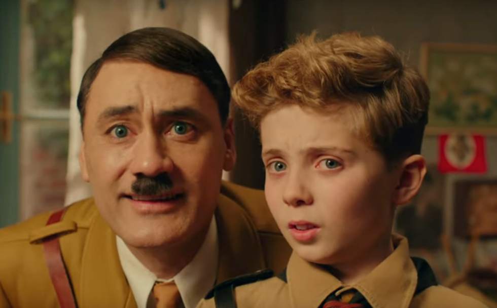 The uneasy farce of 'Jojo Rabbit': Joking about Nazis is trickier than ever