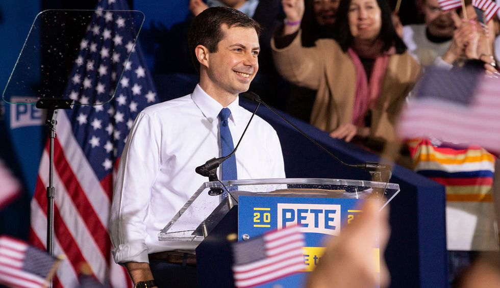 Pete Buttigieg is an ally of corporate America posing as an advocate for working people