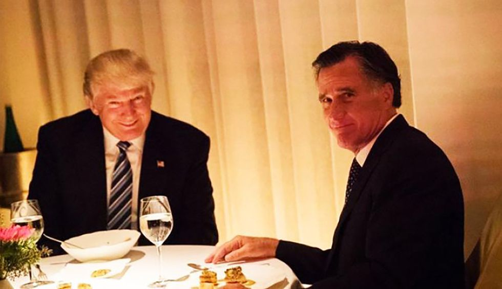 Mitt Romney used his secret Twitter account to like a tweet about removing Trump from office via the 25th Amendment: report