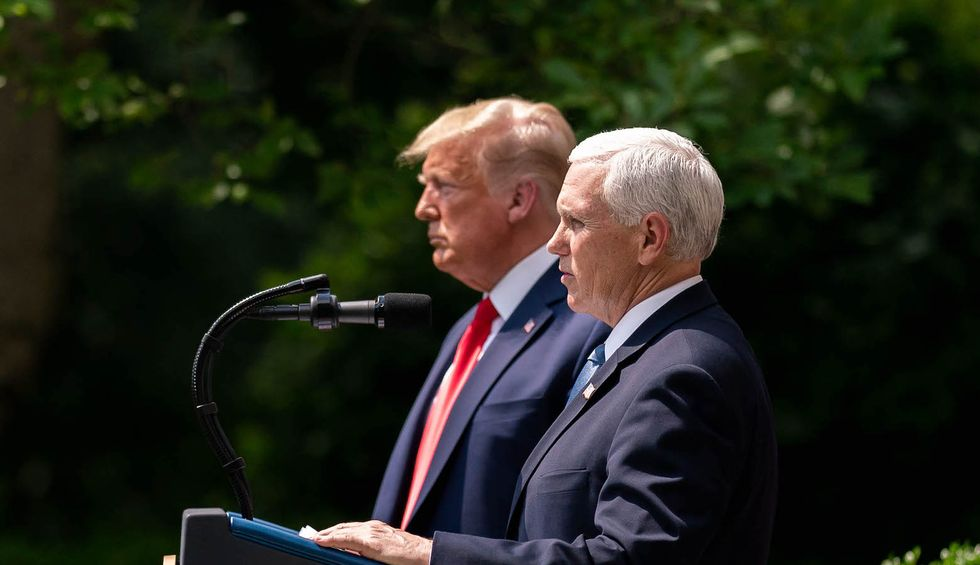 'White House cover-up': New report shows Trump and Pence withheld truth about COVID-19 as they spread lies