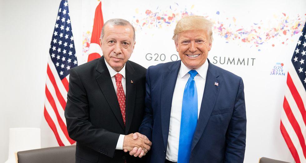 Turkish President Erdogan showed anti-Kurdish propaganda film during Oval Office meeting — and even some pro-Trump Republicans weren't happy