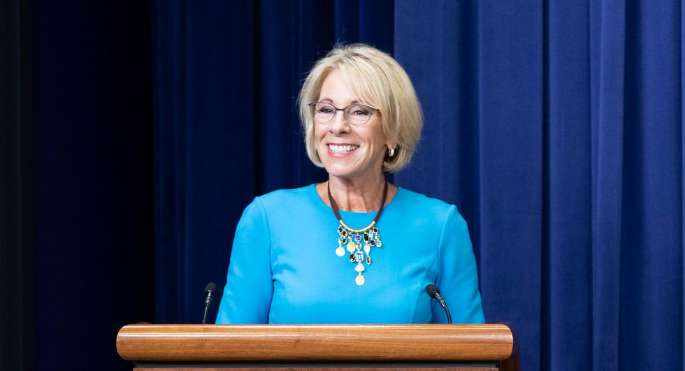 Betsy DeVos held in contempt and gets $100,000 fine for gauging defrauded students