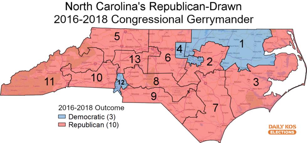 North Carolina court strikes down the worst gerrymander in modern history