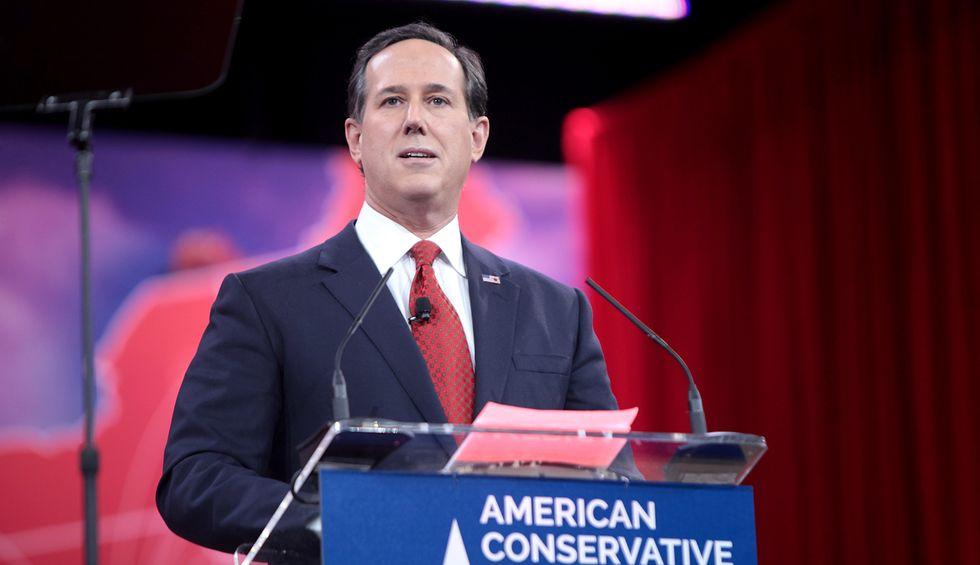 Rick Santorum slammed by conservative Max Boot in CNN clash over 'loyal lickspittles' for Trump