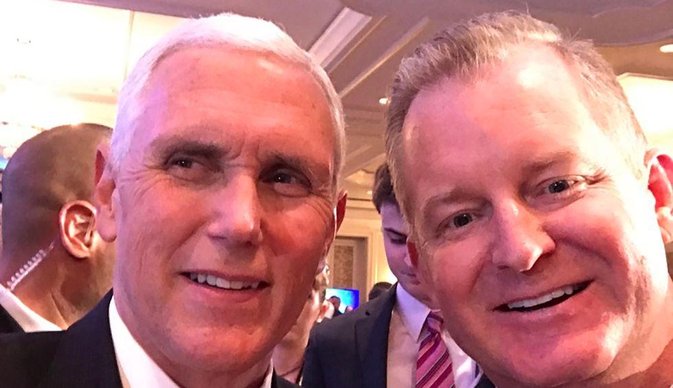 Inside Mike Pence's secret Christian empire