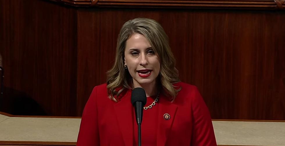 Resigning Rep. Katie Hill decries 'double standard' in her last speech on the House floor