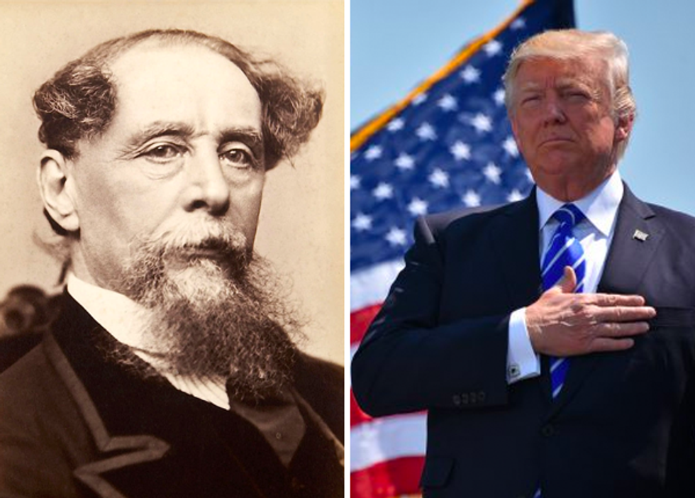 Here's what Charles Dickens would write this Christmas if he visited New York City in Trump's America