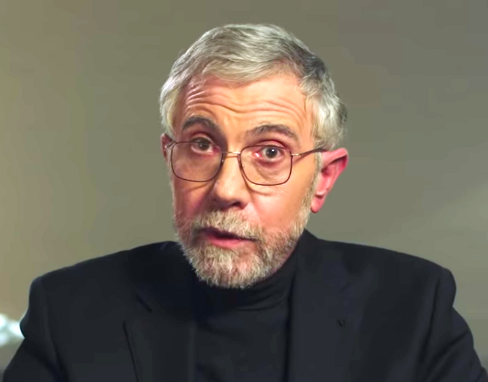 'A big giveaway to stockholders': Paul Krugman argues the GOP's tax scam is making 'America as a whole poorer'