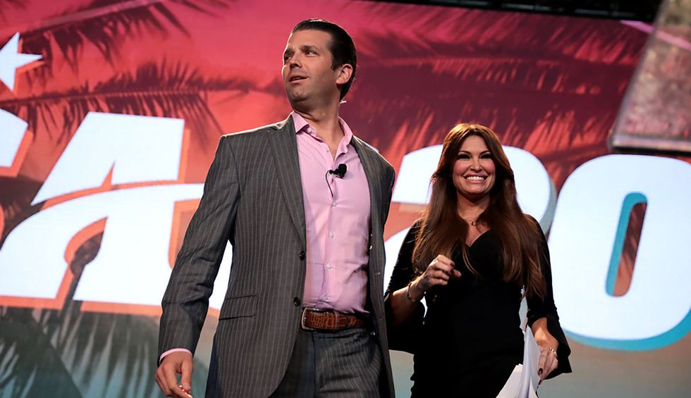 Don Jr and Kimberly Guilfoyle received $50,000 for University of Florida speaking event at Trump campaign official's request: Student newspaper