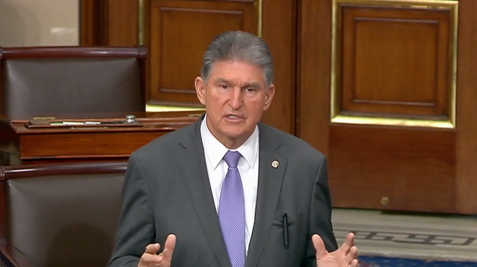 Sen. Joe Manchin has a proposal that will call the bluff of Trump's weak-willed Republican enablers