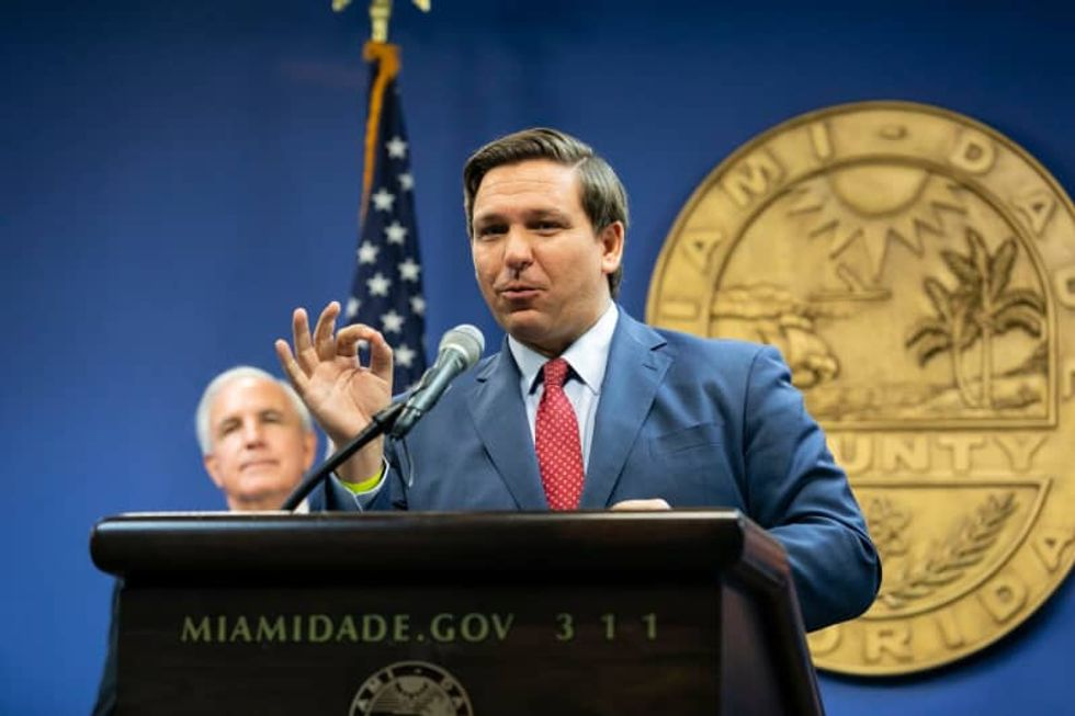 When they call your governor 'Florida Man,' you know it's not a good COVID story
