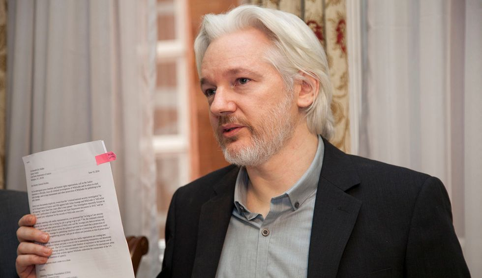 United Nations expert says Julian Assange's life is at risk