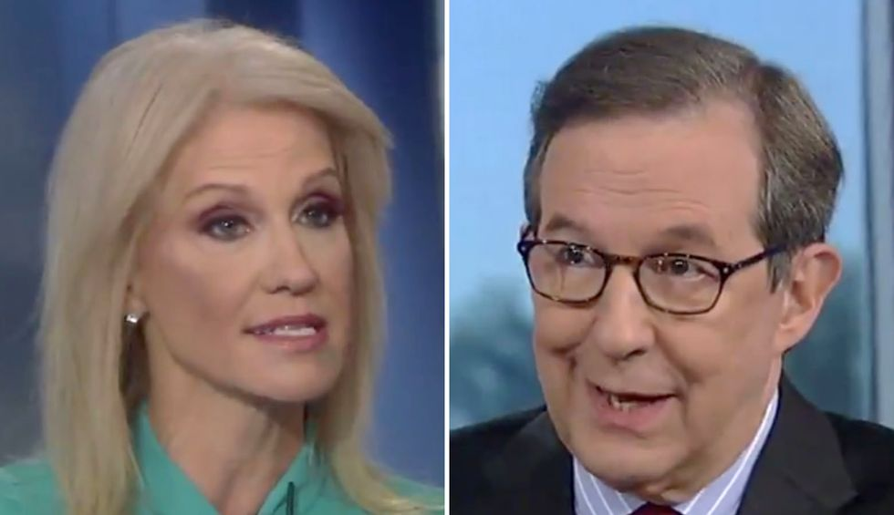 Fox News' Chris Wallace torches Kellyanne Conway for blowing off testimony about Trump's quid pro quo