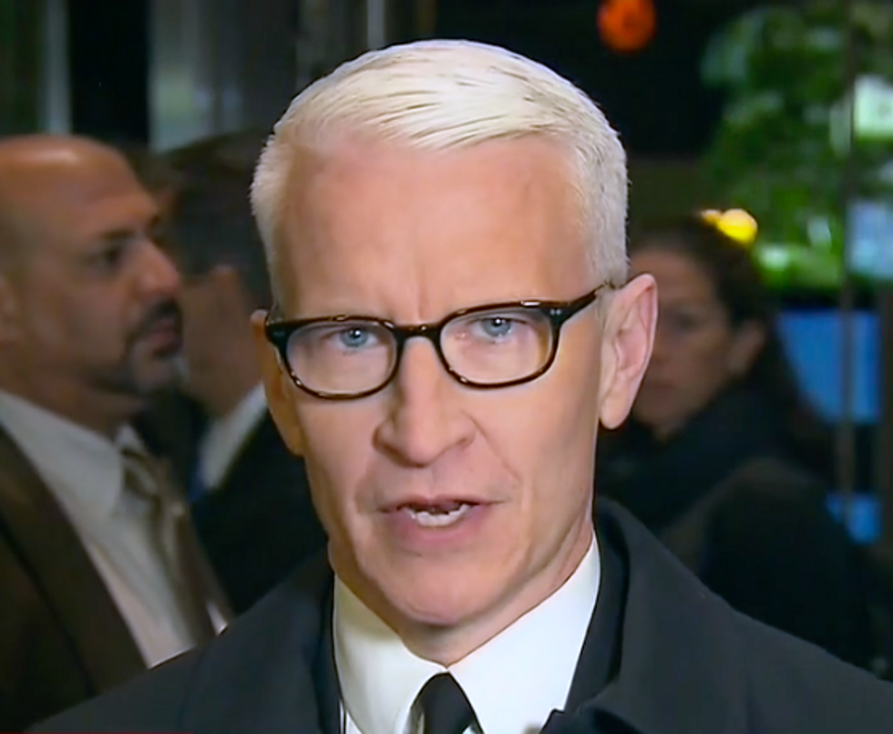 CNN's Anderson Cooper Is Stunned as He Denounces Trump 'Quite Hypocritically' Attacking the Media While Calling for 'Civility'