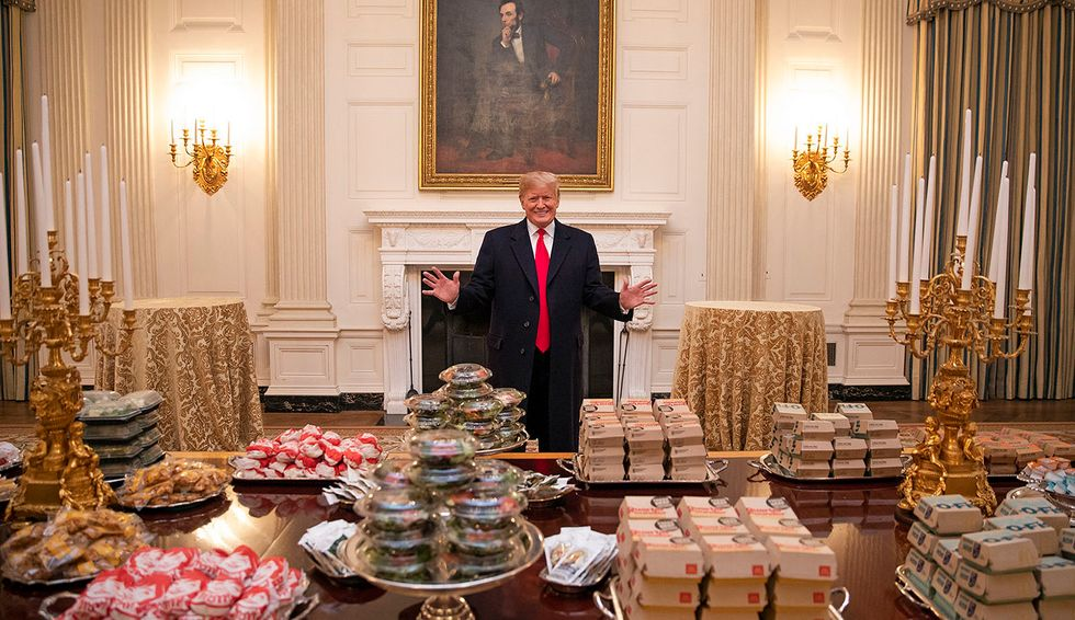 Trump's self-destructive diet: Psychiatrist explains how unhealthy food choices may affect president's mental health