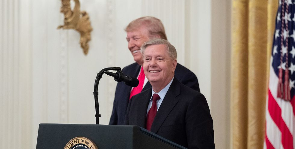 'Seriously corrupt': Greenville SC resident pens letter to the editor demanding Lindsey Graham 'recuse' himself from impeachment after showing 'disheartening level of cynicism'
