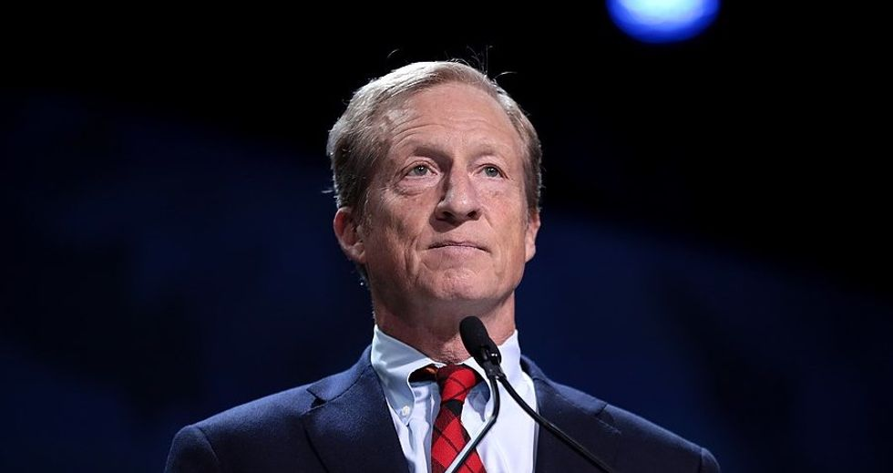 Top aide for billionaire Tom Steyer's presidential campaign accused of trying to buy endorsements