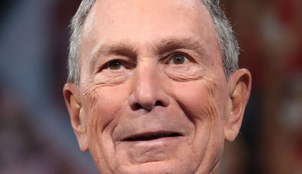 Bloomberg is a billionaire Republican who terrorized black and brown youth: Sanders' supporters
