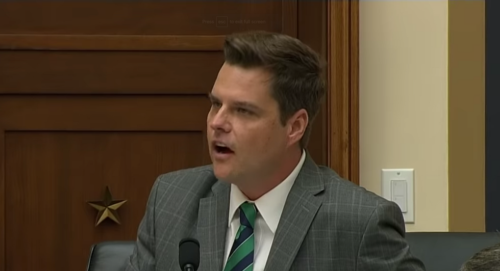 Matt Gaetz gets unanimously admonished by House Ethics Committee over conduct code