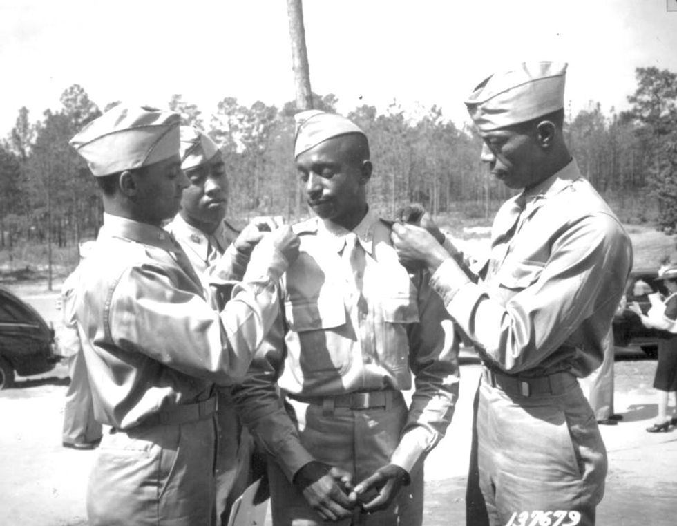 GI Bill opened doors to college for many vets -- but politicians created a separate one for blacks