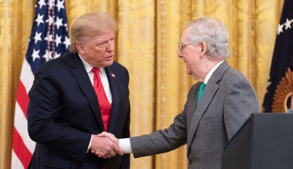 Louisville newspaper analysis reveals full extent of Trump impeachment defense team's donations to Mitch McConnell