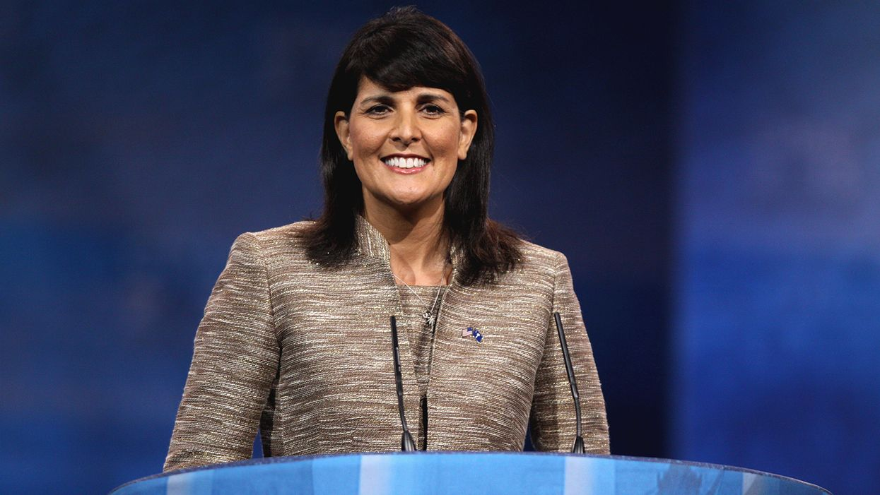 'Hypocrite' Nikki Haley slammed for posting Memorial day photo 'spending time' with son — after attacking VP