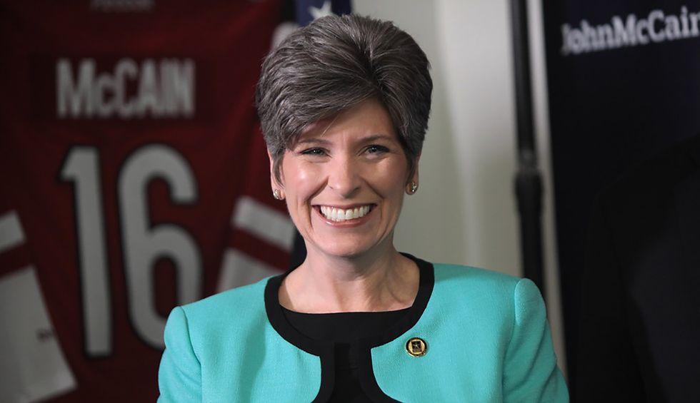 Iowa voters once again give GOP's Joni Ernst hell over Trump at townhall
