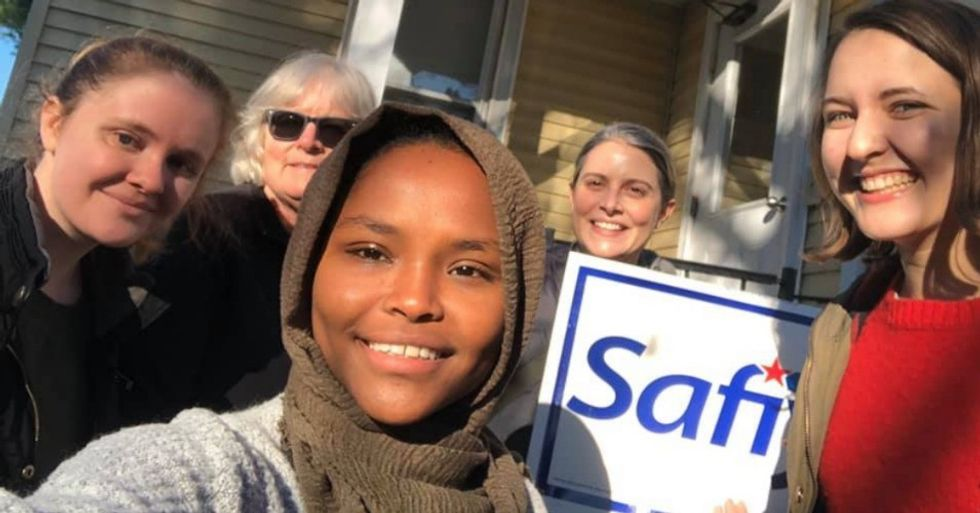 Former refugee makes history as first Somali-American elected to her city council