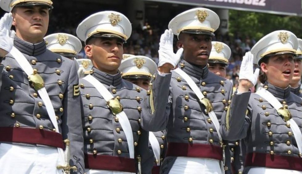 Former West Point graduate says Trump was not 'asked' to be at graduation