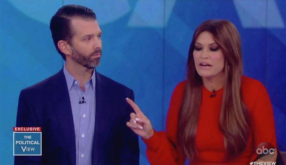 'That's something dictators do': Here are the 5 most explosive moments from Trump Jr's ill-fated appearance on 'The View'