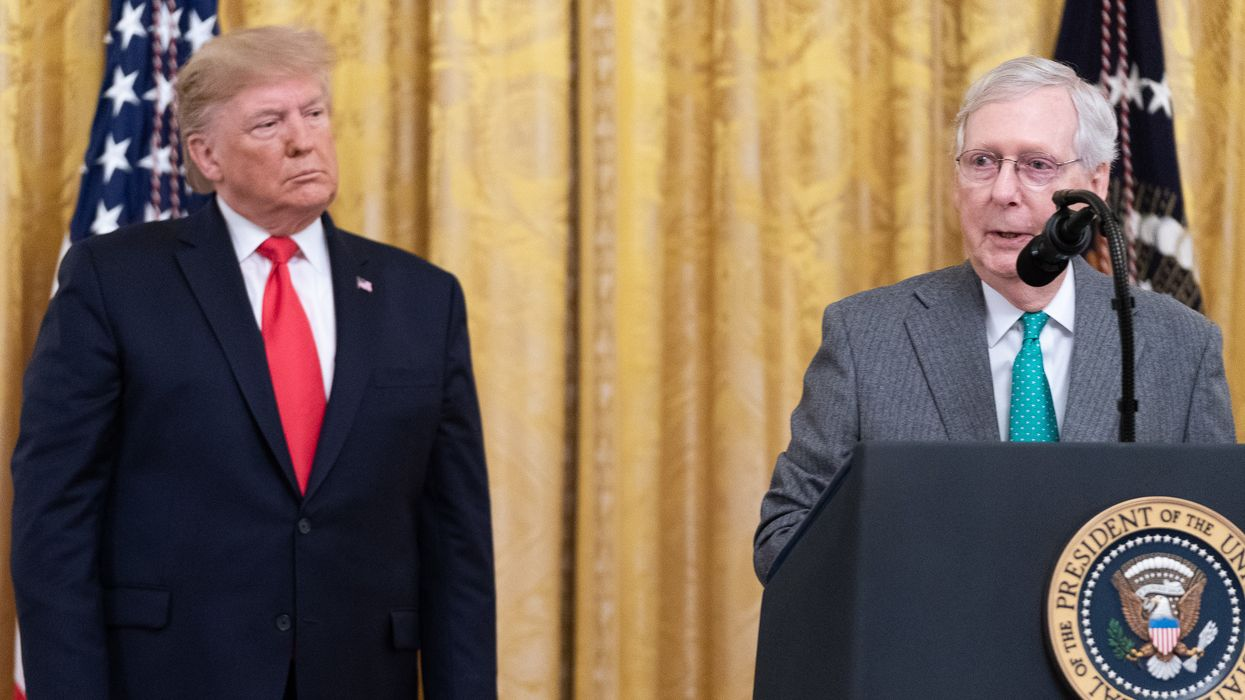 'Some old game-show host': Trump gets mocked after his unhinged attack on Mitch McConnell