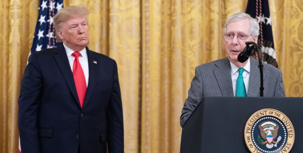 McConnell's reply to Trump's implicit election threat leaves a lot to be desired