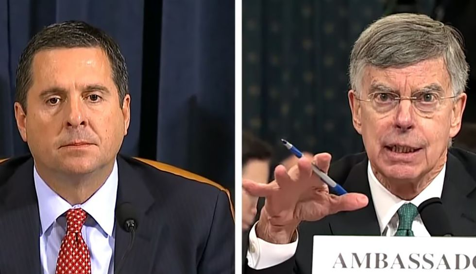 Devin Nunes pushes absurd conspiracy theories about Obama and 'nude pictures of Trump' at impeachment hearing