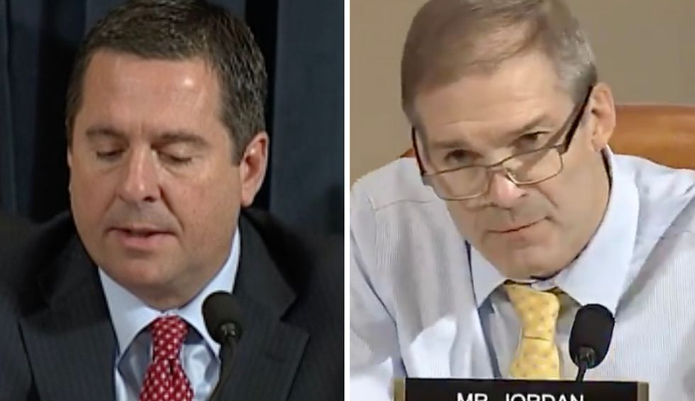 'Comically incompetent' Jim Jordan and Devin Nunes crashed and burned after just one impeachment hearing: Conservative strategist
