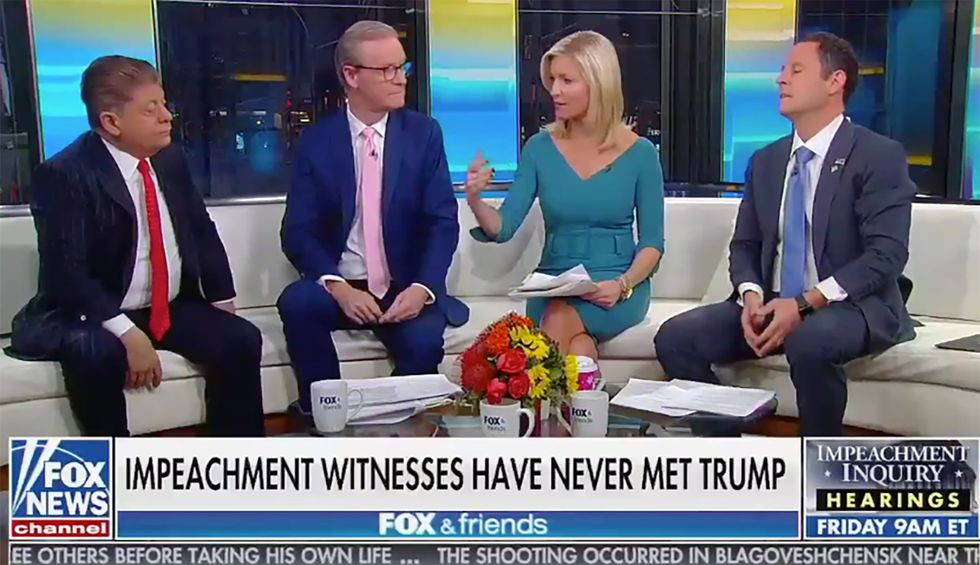 Fox & Friends hosts visibly deflate after legal analyst drops the hammer on Trump: 'The law is not on the president's side'