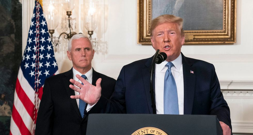 A telling moment from the impeachment hearing suggests Trump has an insurance policy on Mike Pence