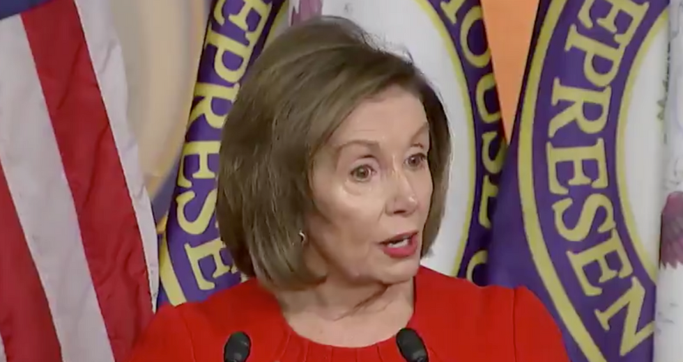 Nancy Pelosi subtly mocks Trump — and sends a big hint about a likely article of impeachment