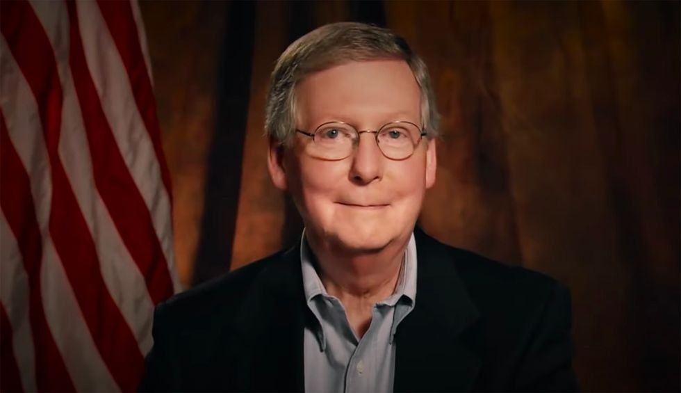 McConnell quietly rams through more lifetime Trump judges while blocking COVID-19 relief: 'Everyone in America should be outraged'