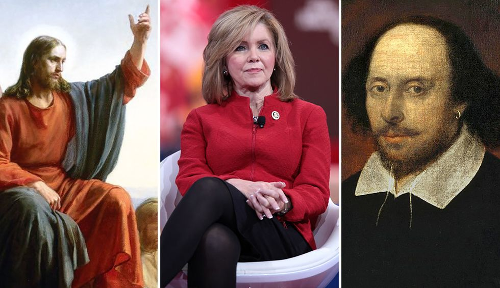 Marsha Blackburn roasted for invoking 'Jesus' to bash Trump impeachment — but actually quoting Shakespeare instead