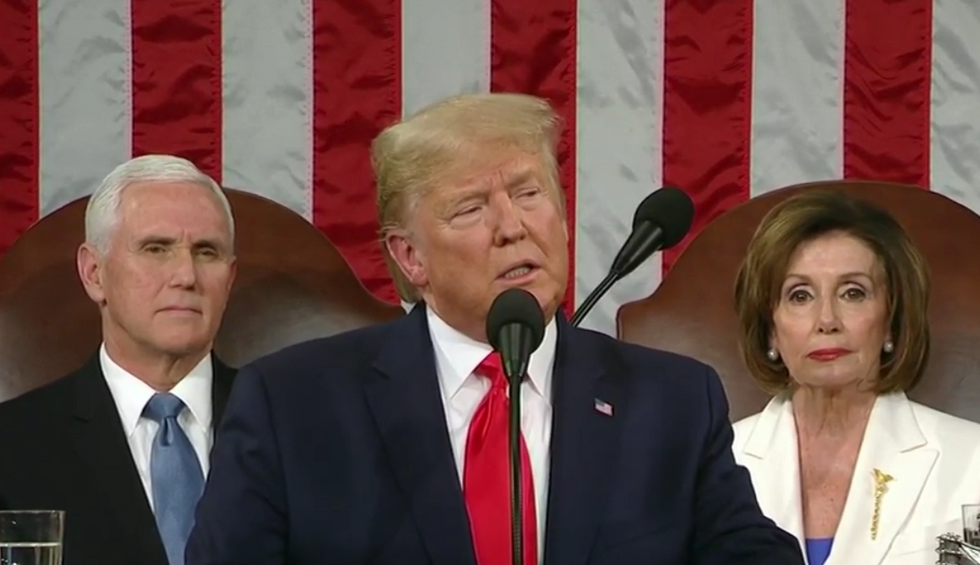 Here are 7 of Trump's lies during the State of the Union