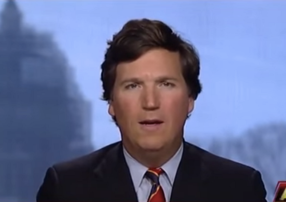 'Go f*** yourself, you tiny brain': Historian reveals the humiliating interview Fox News' Tucker Carlson didn't want you to see