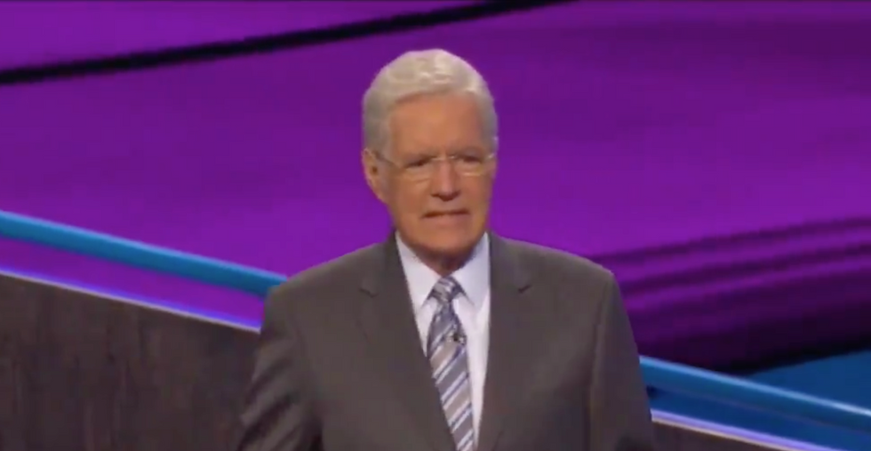 Watch: Alex Trebek gets choked up after an emotional answer in the final round of 'Jeopardy!'