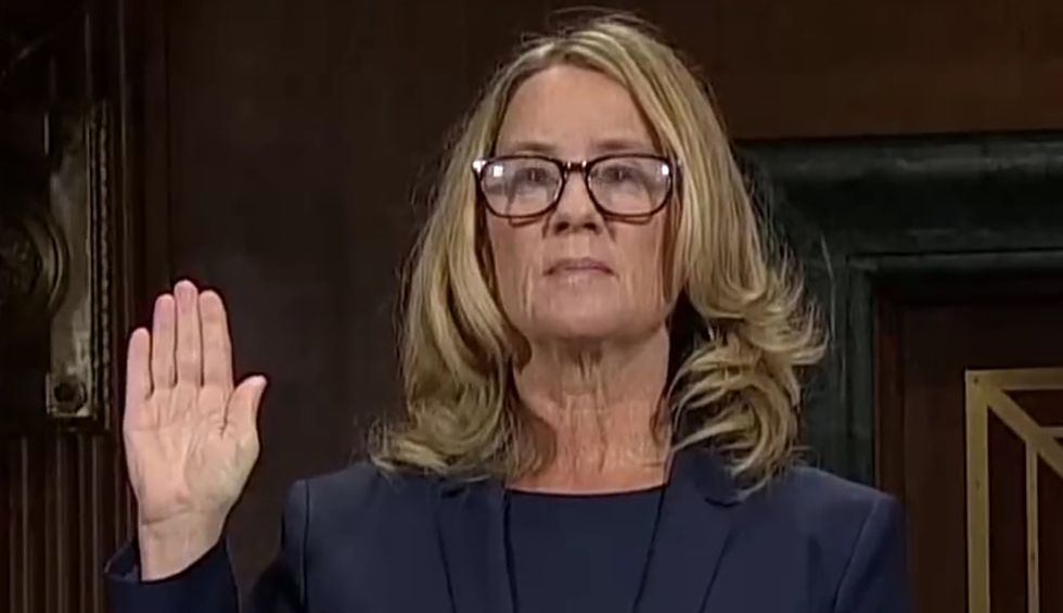 Christine Blasey Ford accepts 'Courage' award a year after Brett Kavanaugh's Senate confirmation