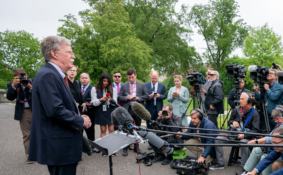 White House threatens legal action against John Bolton over his bombshell book
