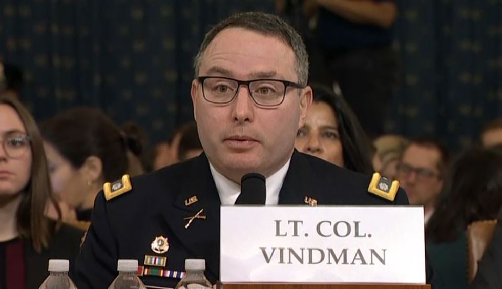 'This country is better than that': Military veterans defend Lt. Col. Vindman against 'vilification' from Trump and 'the right-wing media'
