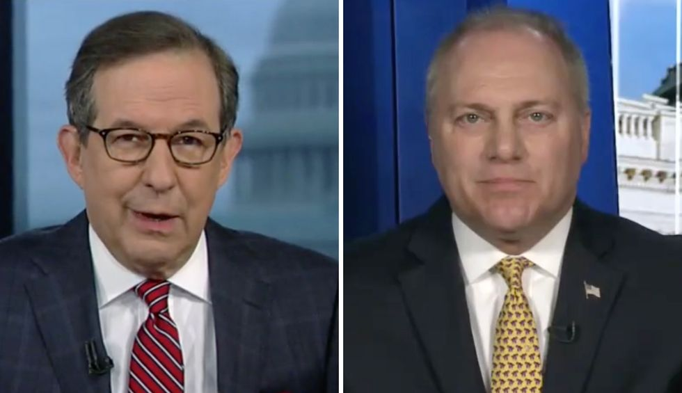 Chris Wallace crushes GOP Whip Steve Scalise's twisted defense of Trump