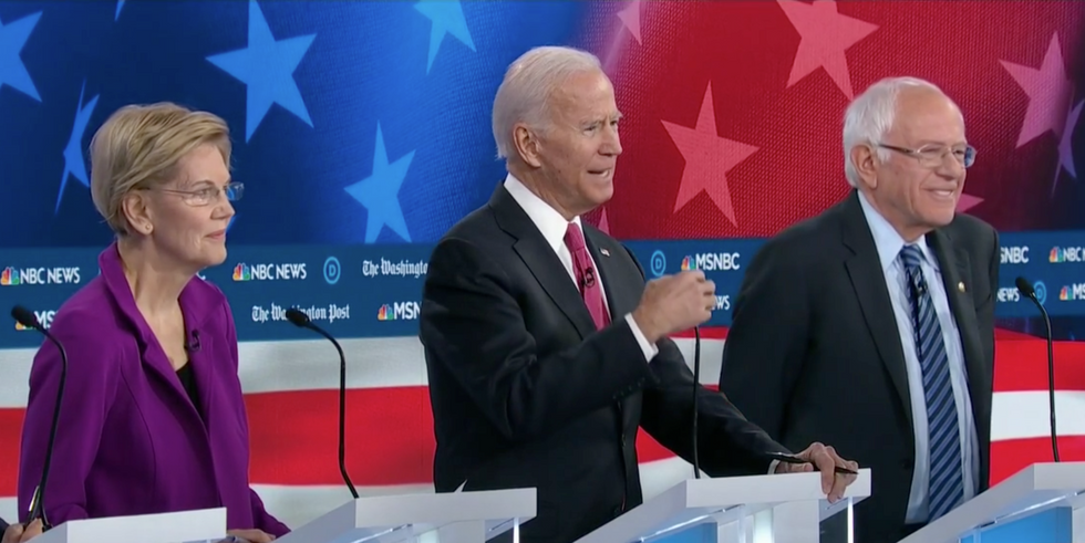 Biden continues to stumble on the topic of race — and his competitors called him out for it