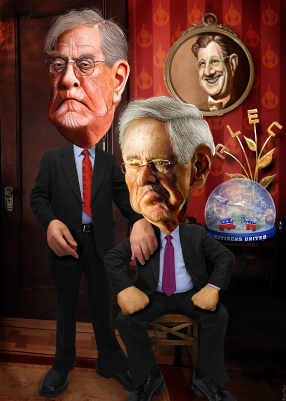 The Koch Brothers Are Watching You -- And New Documents Reveal Just How Much They Know